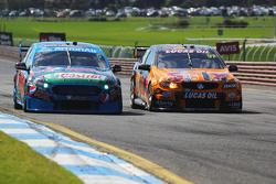 Mark Winterbottom und Steve Owen, Prodrive Racing Australia Ford; Shane van Gisbergen und Jonathon W