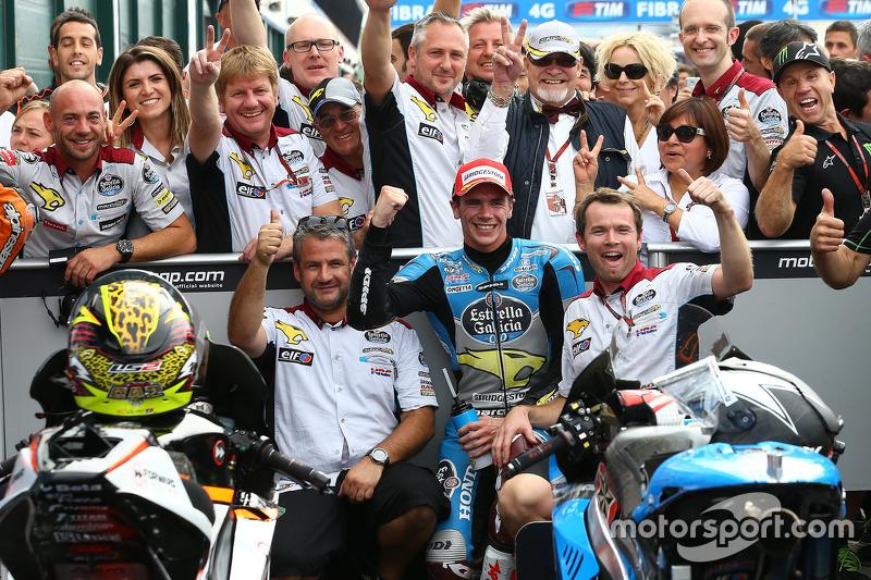 Peringkat ketiga Scott Redding, Marc VDS Racing Honda