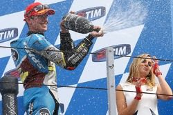 Podium : le troisième Scott Redding, Marc VDS Racing Honda