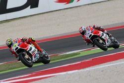 Andrea Iannone en Andre Dovizioso, Ducati Team
