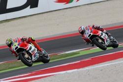 Andrea Iannone e Andre Dovizioso, Ducati Team