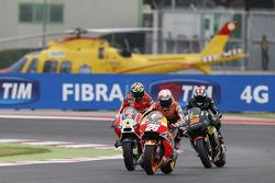Dani Pedrosa, Repsol Honda Team e Andrea Iannone, Ducati Team e Bradley Smith, Tech 3 Yamaha