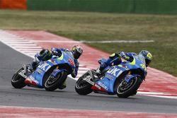 Aleix Espargaro y Maverick Viñales, Team Suzuki MotoGP