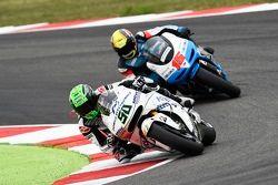 Eugene Laverty, Aspar MotoGP Team and Alex de Angelis, Octo Ioda Racing Project
