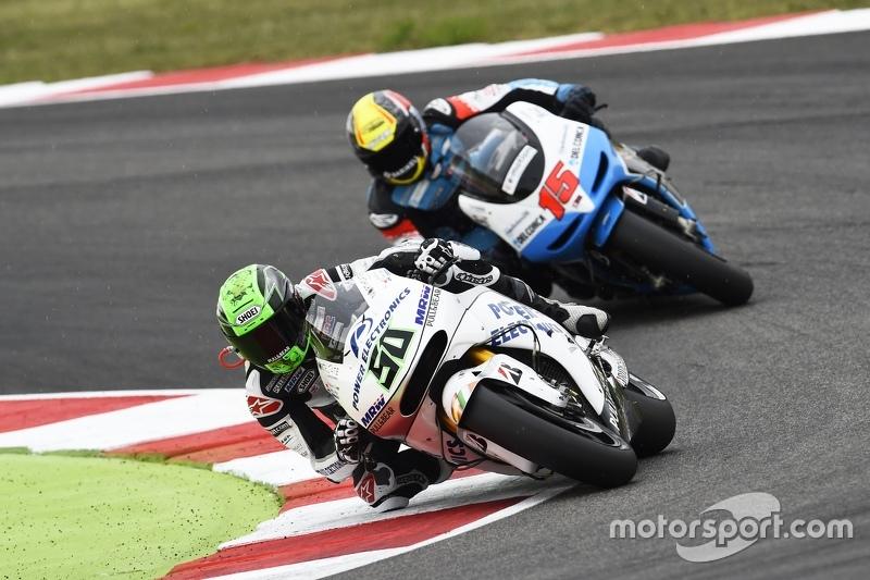 Eugene Laverty, Aspar MotoGP Team, und Alex de Angelis, Octo Ioda Racing Project