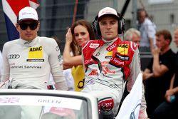 Nico Müller, Audi Sport Team Rosberg Audi RS 5 DTM and Jamie Green, Audi Sport Team Rosberg Audi RS