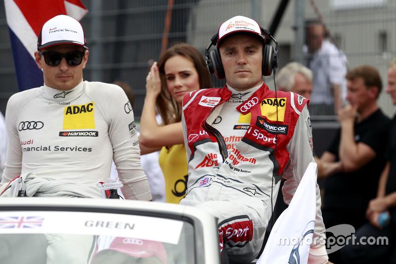 Ніко Мюллер, Audi Sport Team Rosberg Audi RS 5 DTM та Джеймі Грін, Audi Sport Team Rosberg Audi RS 5 DTM