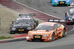 Jamie Green, Audi Sport Team Rosberg Audi RS 5 DTM and Bruno Spengler, BMW Team MTEK BMW M4 DTM