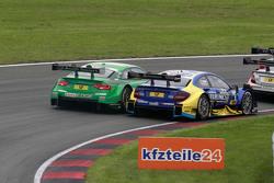 Edoardo Mortara, Audi Sport Team Abt Audi RS 5 DTM and Gary Paffett, ART Grand Prix Mercedes-AMG C63