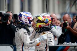 Tom Blomqvist, BMW Team RBM BMW M4 DTM and Augusto Farfus, BMW Team RBM BMW M34 DTM