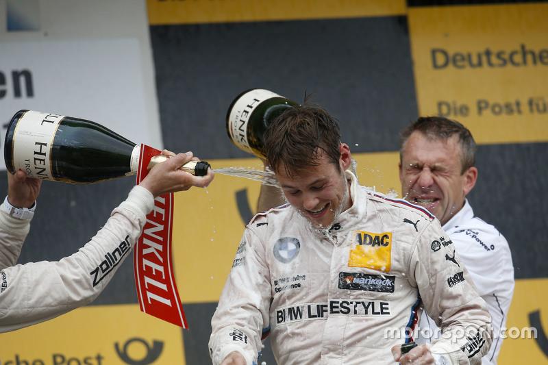 Podium: Tom Blomqvist, BMW Team RBM BMW M4 DTM