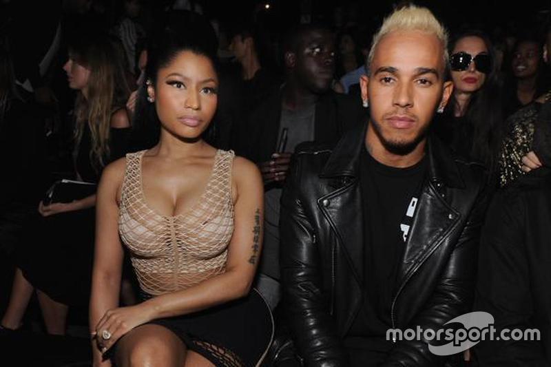 Famosos como Nicki Minaj, Neymar, Justin Bieber o Rihanna, entre otros, forman parte del círculo de amistades del piloto