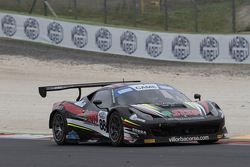 Ferrari 458 Italia GT3 #88, Giovanni Berton, Niccolo Schiro, Villorba Corse