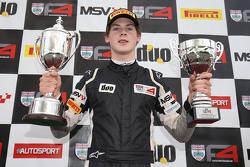 Winner race 1 Harrison Newey, HHC Motorsport