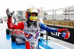 Ben Barnicoat, Fortec Motorsports, vainqueur de la course