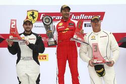 Trofeo Pirelli Am podium: winner #8 Ferrari of Ft. Lauderdale Ferrari 459