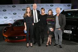 Alexandra Maria Lara, Peter Modelhart Director Jaguar Land Rover Germany, Anja Kling, Hannah Herzspr