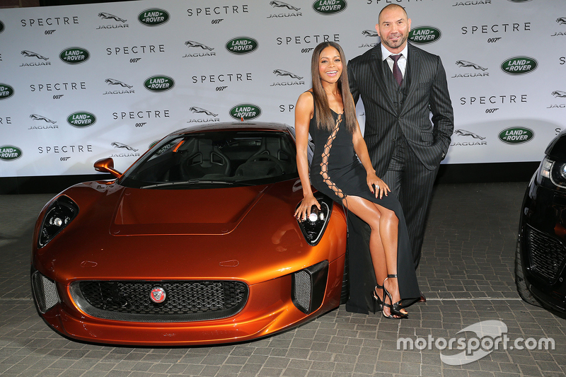 Naomi Harris ( James Bond Spectre, Miss Moneypenny ) and Dave Bautista ( James Bond Spectre, Mr. Hin
