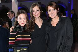 Hannah Herzsprung, Alexandra Maria Lara, Anja Kling during the presentation of the Jaguar Land Rover vehicles starring in the new Bond film Spectre