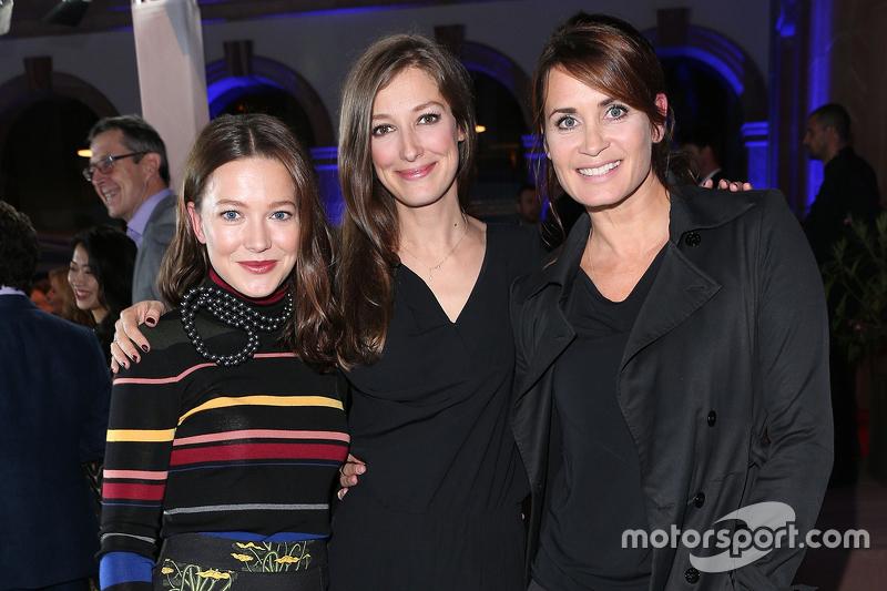 Hannah Herzsprung, Alexandra Maria Lara, Anja Kling during the presentation of the Jaguar Land Rover