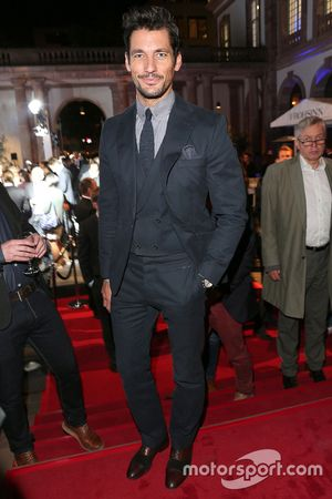 David Gandy during the presentation of the Jaguar Land Rover vehicles starring in the new Bond film Spectre