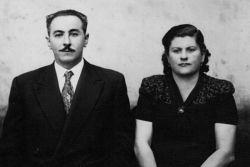 Felipe Nasr'ın aile haritası: büyükbabası ve büyükannesi Hachem Abdala Bittar ve Marrum Bittar, her