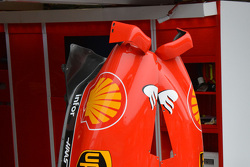 Ferrari SF15T, dettaglio sulle finacate