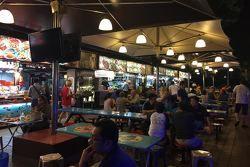 Pratos exóticos do GP de Cingapura
