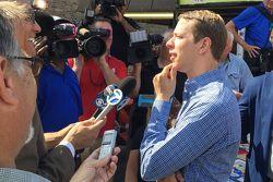 Brad Keselowski, Penske Ford Takımı Chicago'da basınla buluşuyor