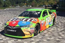 Kyle Busch, Joe Gibbs Racing Toyota visitó ESPN