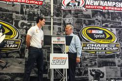 Joey Logano, equipo Penske Ford en Loudon, New Hampshire