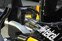 Force India VJM08-B, Monkey seat con tre piccoli flap