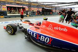 Alexander Rossi, Manor F1 Team deja los pits