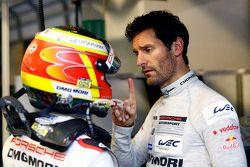 Mark Webber and Timo Bernhard, Porsche Team