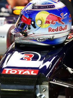 Casco de Daniel Ricciardo, Red Bull Racing RB11