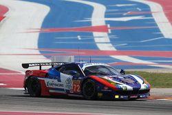 SMP车队72号法拉利458 GTE赛车:维克托·沙塔尔、安德里亚·贝托里尼、埃里克西·巴索夫