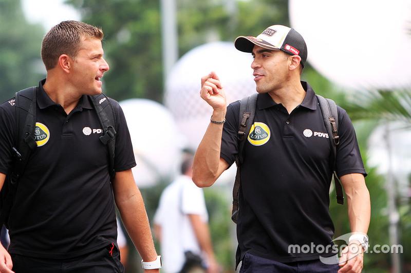 Пастор Мальдонадо, Lotus F1 Team з Fabrizio Maganzi, Lotus F1 Team Особистий тренер