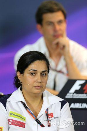 Monisha Kaltenborn, Directrice Générale, Sauber F1 Team
