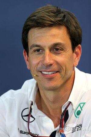 Toto Wolff, diretor da Mercedes AMG F1