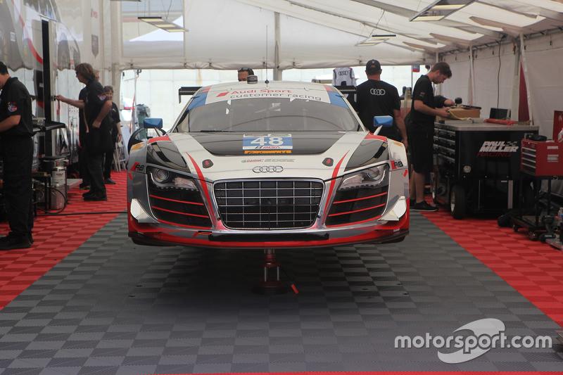 Paul Miller Racing Audi R LMS Christopher Haase Dion Von - Paul miller audi
