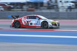 #45 Flying Lizard Motorsports Audi R8 LMS : Mike Vess, Jason Hart