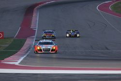 #76 Compass360 Racing Audi R8 LMS: Ray Mason, Pierre Kleinubing