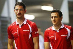 Alexander Rossi, Manor F1 Team e Fabio Leimer, Manor F1 Team Test and Reserve Driver