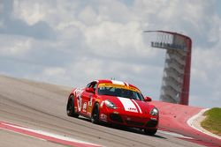 #87 Rebel Rock Racing Porsche Cayman: Jim Jonsin, Remo Ruscitti