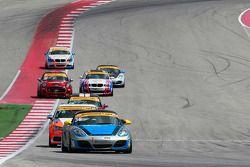 #36 Strategic Wealth Racing Porsche Cayman: Matthew Dicken, Corey Lewis