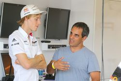 Brendon Hartley, Porsche Team y Juan Pablo Montoya