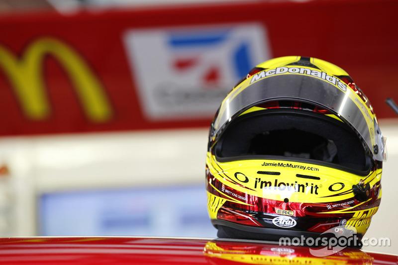 Helmet of Jamie McMurray, Chip Ganassi Racing