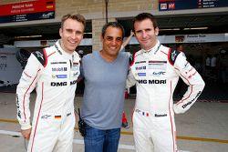 Timo Bernhard, Romain Dumas, Porsche Takımı ile Juan Pablo Montoya