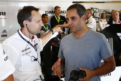 Алекс Хитзингер, технический директор LMP1 и Хуан-Пабло Монтоя