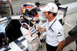 Ganadores de la pole Neel Jani y Romain Dumas, Porsche Team